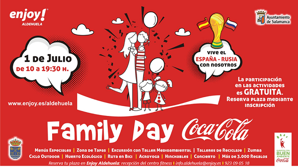 Family Day Coca Cola en Enjoy Aldehuela