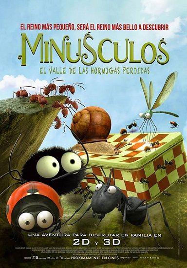 """""""Minúsculos"""", cine al aire libre en la Biblioteca Torrente Ballester"""