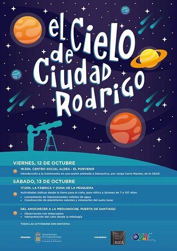Fin de semana de astronomía en Ciudad Rodrigo con OSAE