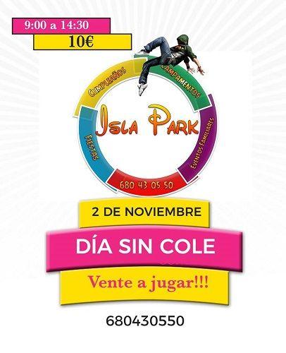 Isla Park en Cabrerizos y su día sin cole