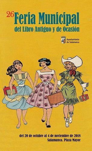 Feria del Libro de Ocasión en Salamanca