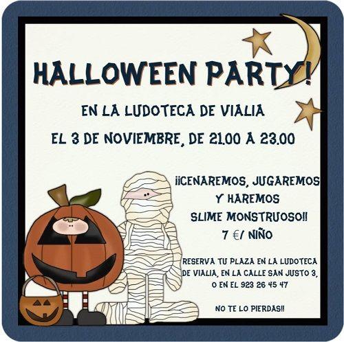 Halloween Party en Vialia el 3 de noviembre