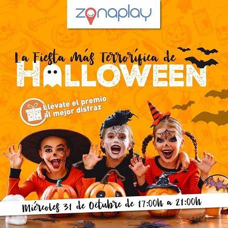 Fiesta terrorífica de Halloween en Zona Play