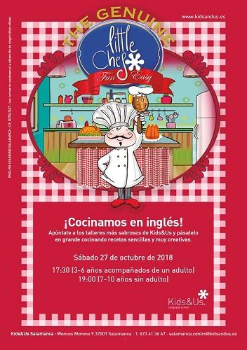 Little Chef especia Halloween en Kids&Us Salamanca