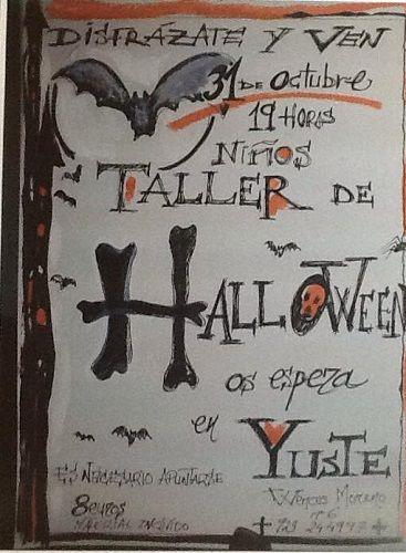 Taller de Halloween en la librería Yuste