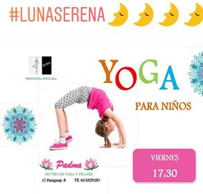 Yoga infantil en Salamanca