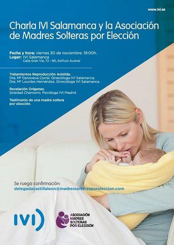 Charla sobre reproducción asistida en IVI Salamanca