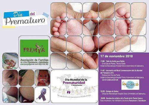 Día del Prematuro 2018 con Premya en Salamanca