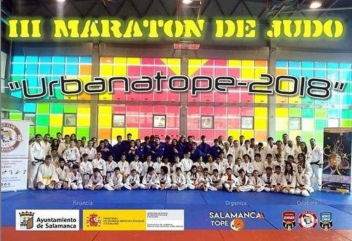 Maratón de judo en Satope Joven