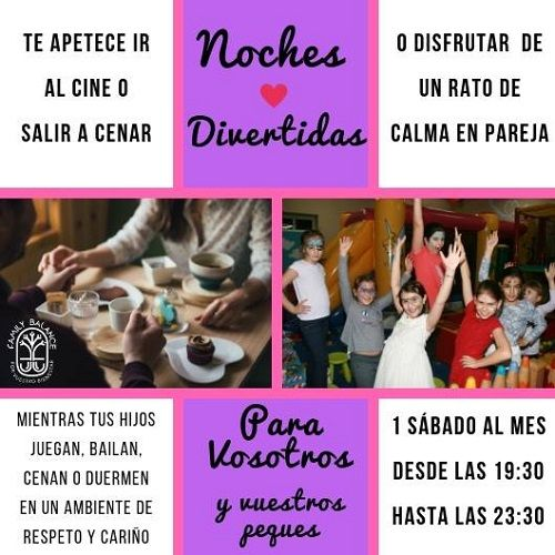 Noches divertidas en Family Balance