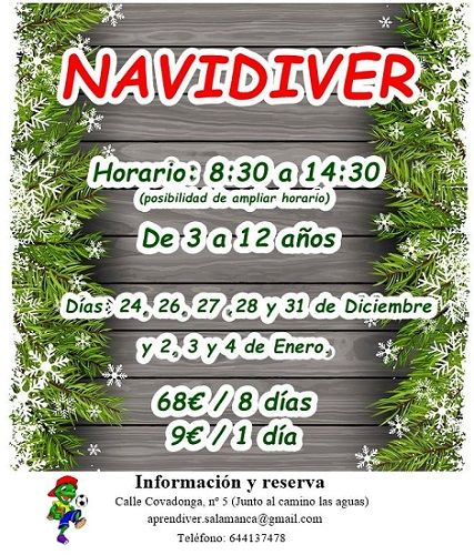 Navidad en Aprendiver, con Navidiver
