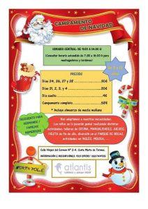 Campamento de Navidad en Atlantis
