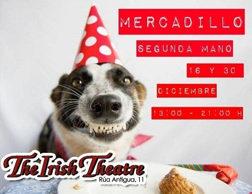Mercadillo de segunda mano en The Irish Theatre