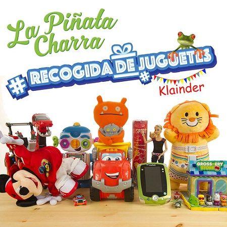 Recogida de juguetes en La Piñata Charra