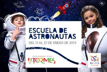 Escuela de astronautas en el C.C. El Tormes