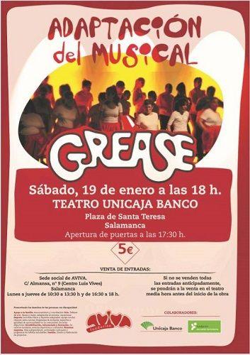 """Adaptación del musical """"Grease"""" de AVIVA"""