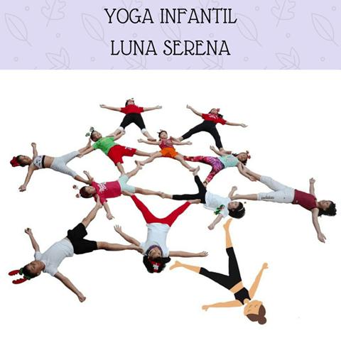 Yoga infantil en Luna Serena
