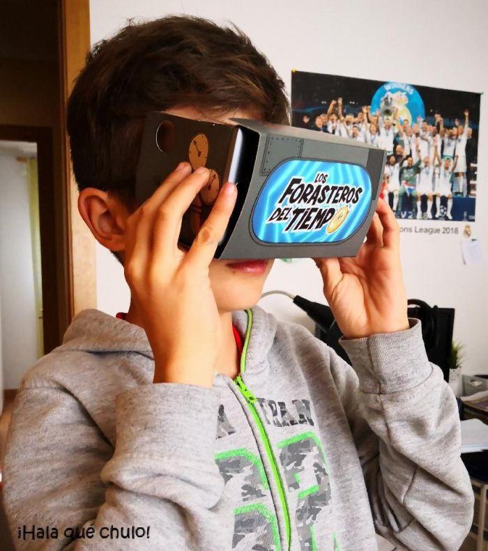 Los Forasteros del Tiempo en realidad virtual