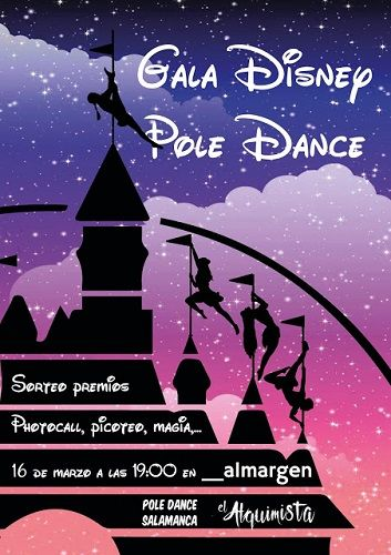 Gala Disney Pole Dance