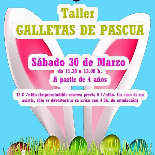 Taller infantil de galletas de Pascua en Tarty Party