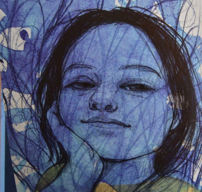Una de las ilustraciones de Noemí Villamuza