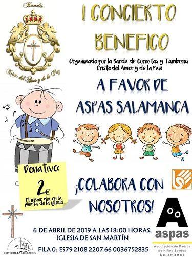 Concierto benéfico a favor de ASPAS Salamanca