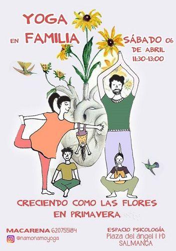 Yoga en familia en Espacio Psicología Yoga
