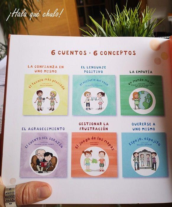 6 cuentos y 6 conceptos para aumentar la autoestima de los niños