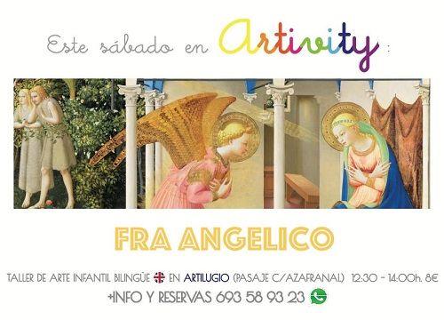Fra Angelico este sábado en el Artivity