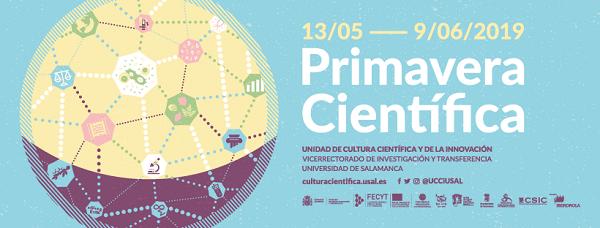 Primavera Científica 2019 en Salamanca