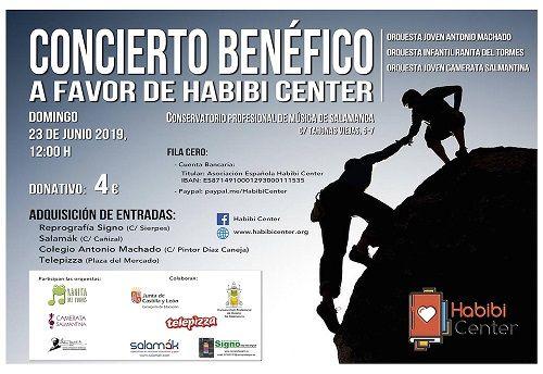 Concierto benéfico a favor de Habibi Center