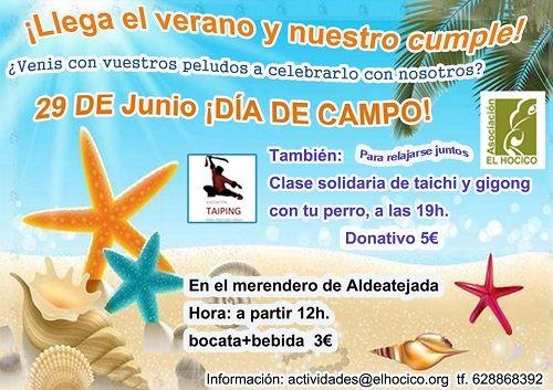Día de Campo para celebrar el cumple de El Hocico