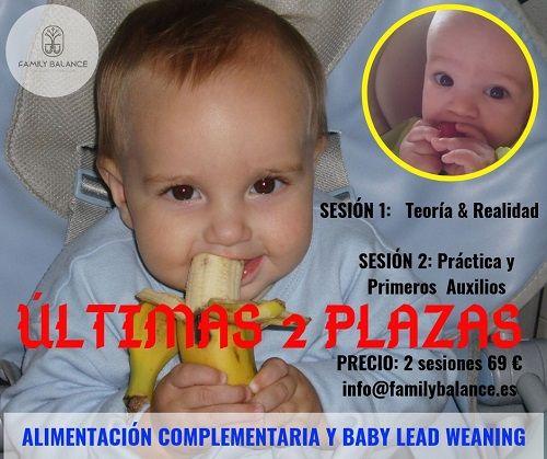 Taller de Alimentación Complementaria y Baby Led Weaning