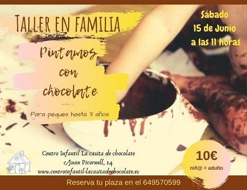 """Taller en familia """"Pintamos con chocolate"""""""