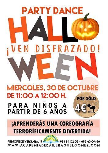 PartyDance Halloween en la academia de baile de Raquel Gómez