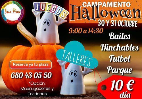 Campamento Halloween en Isla Park