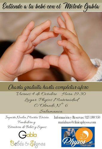 Charla gratuita en Physos Maternidad sobre el método Gabla