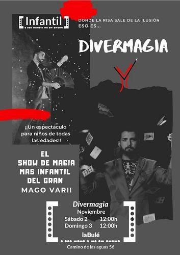 Divermagia en el nuevo espacio La Bulé