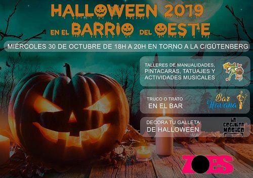 Halloween 2019 en el Barrio del Oeste