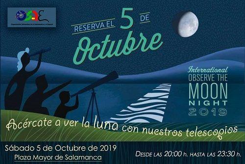 Noche Internacional de la Observación de la Luna