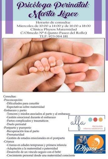 Consulta de Psicologa perinatal