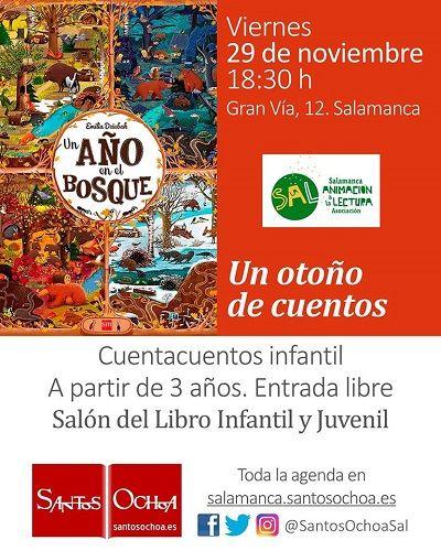 Cuentacuentos en la librería Santos Ochoa