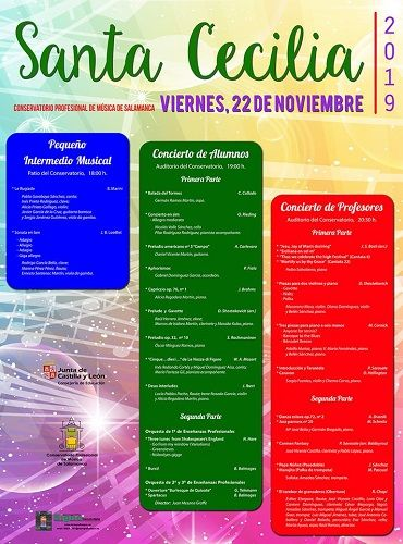 Celebra el Día de la Música en el Conservatorio Profesional de Música de Salamanca