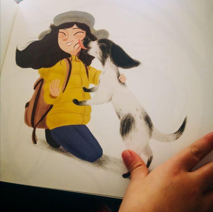 Las ilustraciones de Ayesha L. Rubio desprenden ternura y mucho cariño