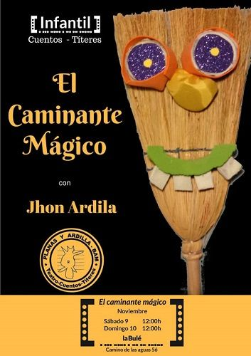 Cuentos y títeres con John Ardila en La Bulé