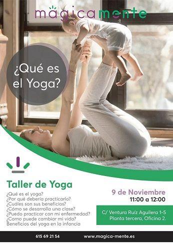 Taller de yoga en MágiMamente