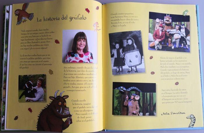 La historia del grúfalo según su autora, Julia Donaldson