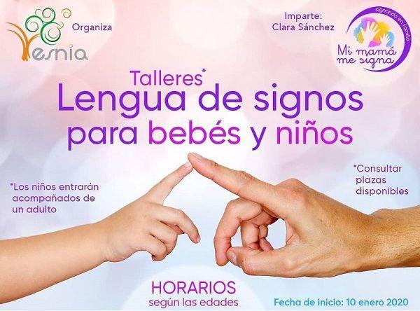 Talleres de lengua de signos española (LSE) en Centro Esnia