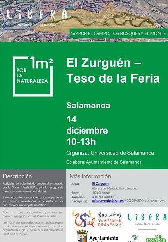 """""""1m2 por la Naturalezaz"""" voluntariado ambiental"""