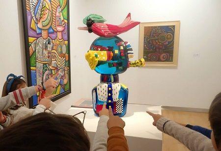 Taller infantil «Con el arte sí se juega» en el DA2